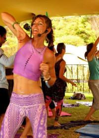Living my Yoga & Rocking my life: Teaching Yoga Rhythms at Splore Festival