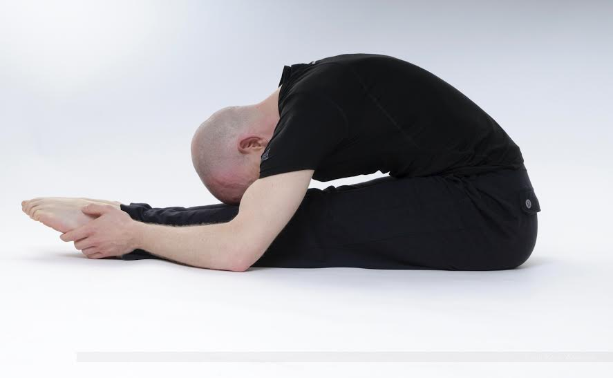 Yin Yoga caterpillar
