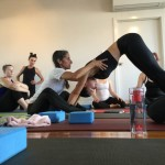 Getting Touchy Feely with Maty Ezraty in the Yoga Room