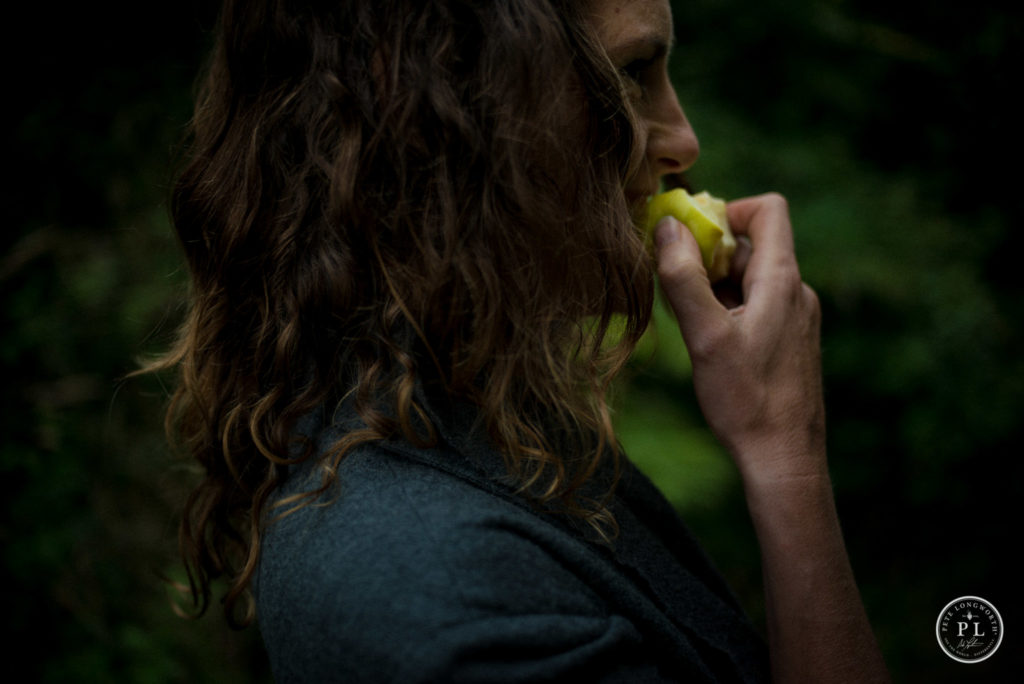 Maybe it's time to pause and just... eat an apple. Photo Credit: Pete Longworth