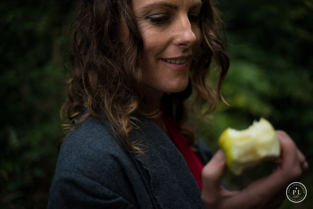 Re-writing our stories means we can go back for another bite of the apple. Photo by Pete Longworth