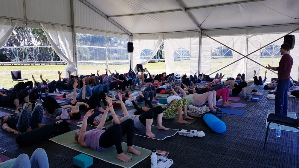 J. Brown Gentle is the New Adavanced Hauora Yoga Conference New Zealand