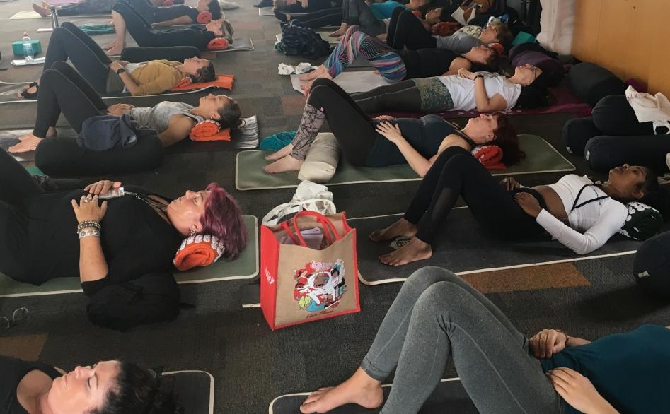 Keishana Coursey Shakti Mat Hauora Yoga Conference