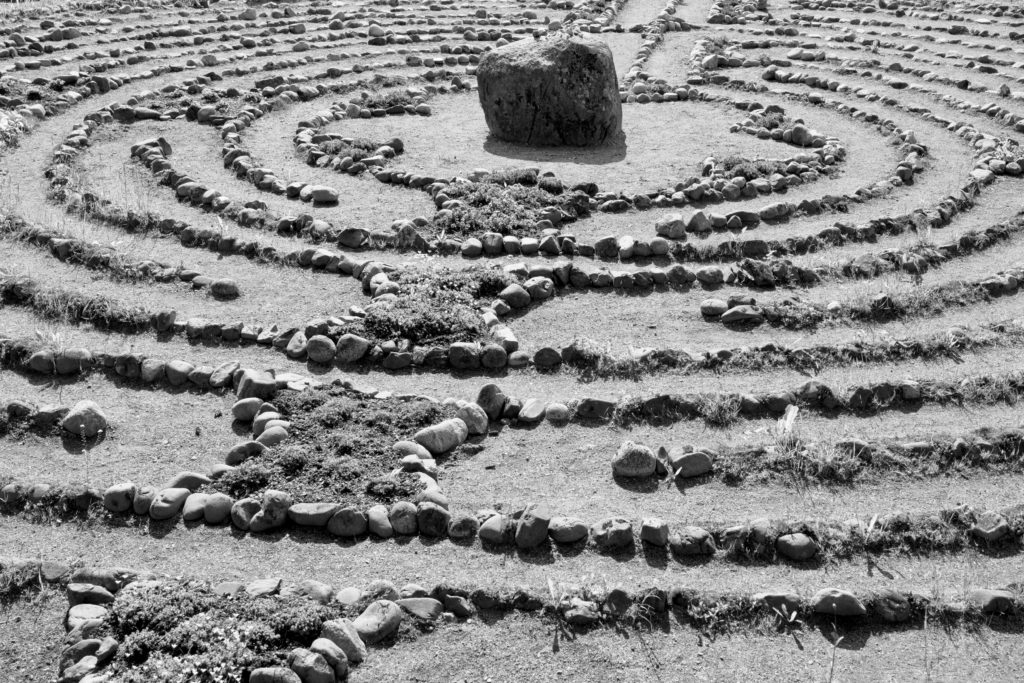 The labyrinth of teaching yoga