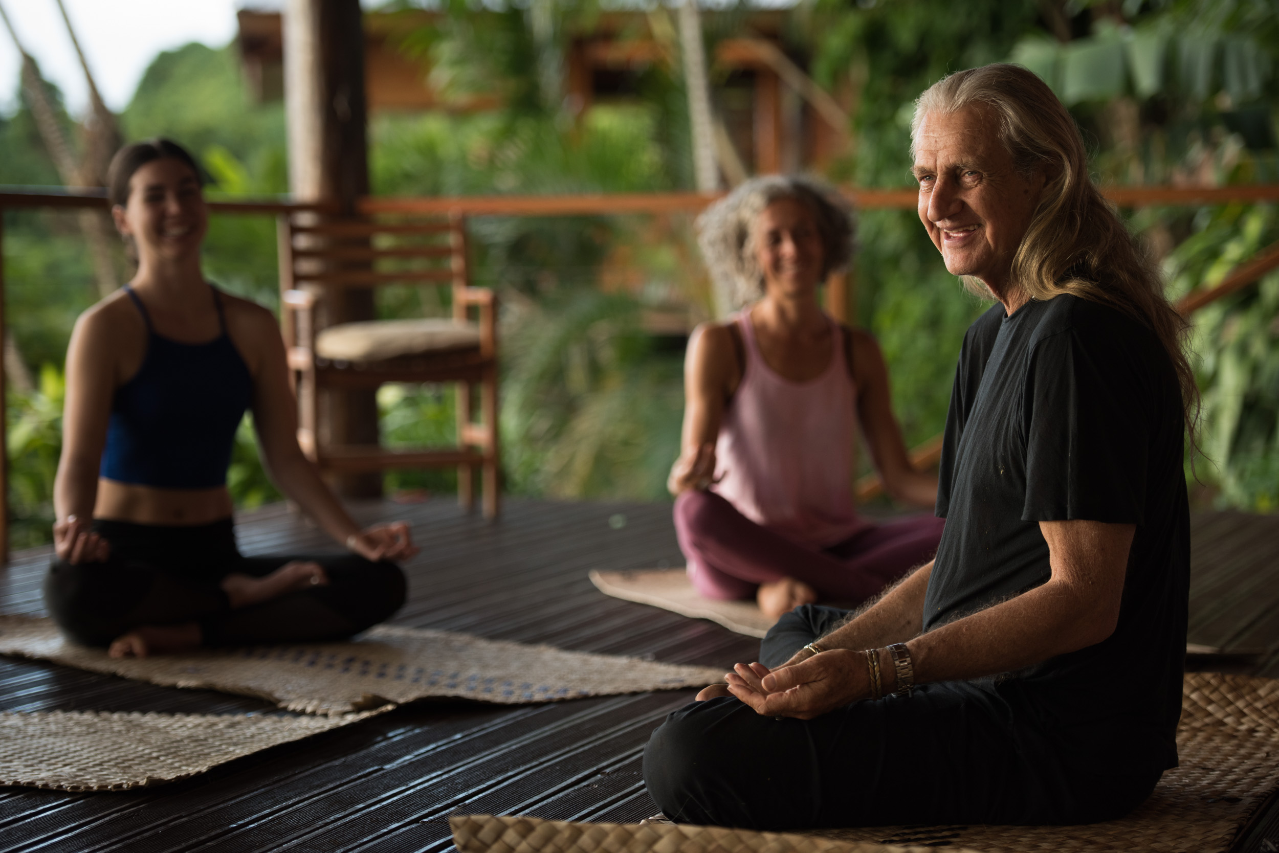 Mark Whitwell Yoga Teacher Training